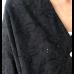 Siyah %100 Pamuk Fisto Kumaş Tunik